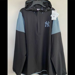 Majestic Authentic New York Yankees Hooded Jacket